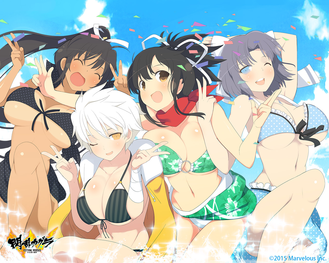 senran kagura wallpaper